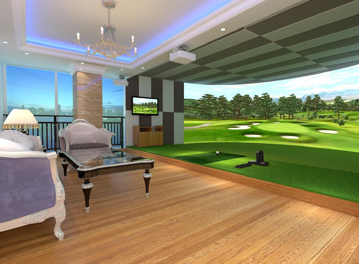 室内模拟高尔夫运动现在越来越多被人们所关注,作为休闲活动,老少兼宜。但是高尔夫球场地较大,在一线城市中,寸土寸金,组建一个高尔夫球场需要花费较大的费用。针对这一现象,高尔夫模拟仿真系统可有效解决这个问题,用大屏幕还原真实场地,利用音效、互动感应、大屏幕等给用户创造接近真实的体验方式。   国际奥委会(IOC)第121次全会在丹麦首都哥本哈根投票决定,室内模拟高尔夫高尔夫成为2016年巴西里约热内卢奥运会、2020年奥运会的正式比赛项目。这是高尔夫在1904年奥运会后,时隔112年重返奥运会大家庭。